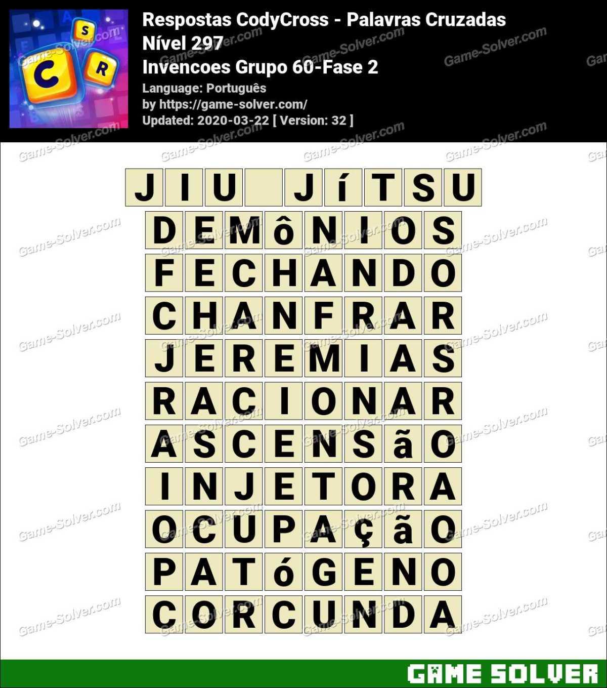 Respostas CodyCross Invencoes Grupo 60-Fase 2