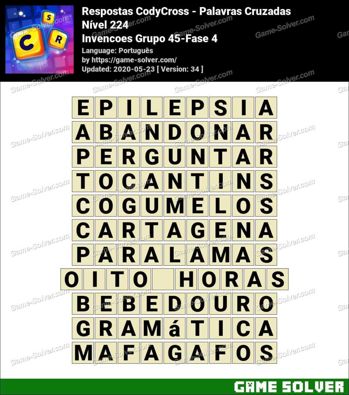Respostas CodyCross Invencoes Grupo 45-Fase 4