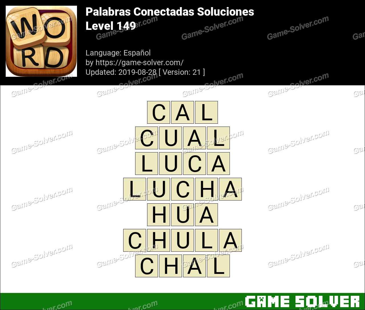 Palabras Conectadas Nivel 149 Soluciones