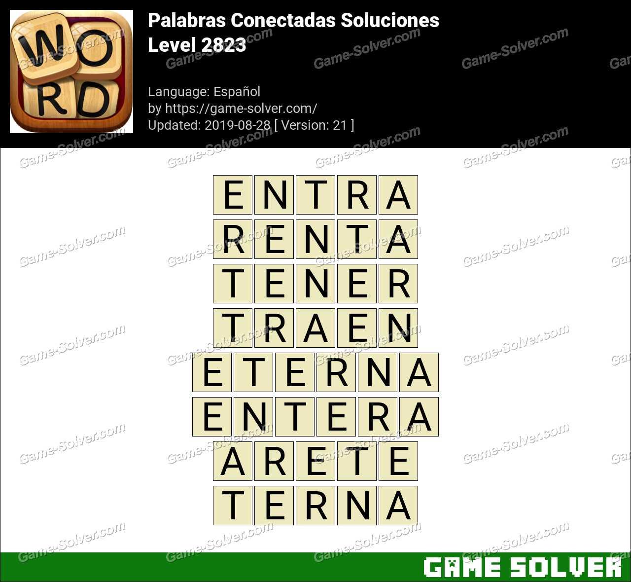 Palabras Conectadas Nivel 2823 Soluciones