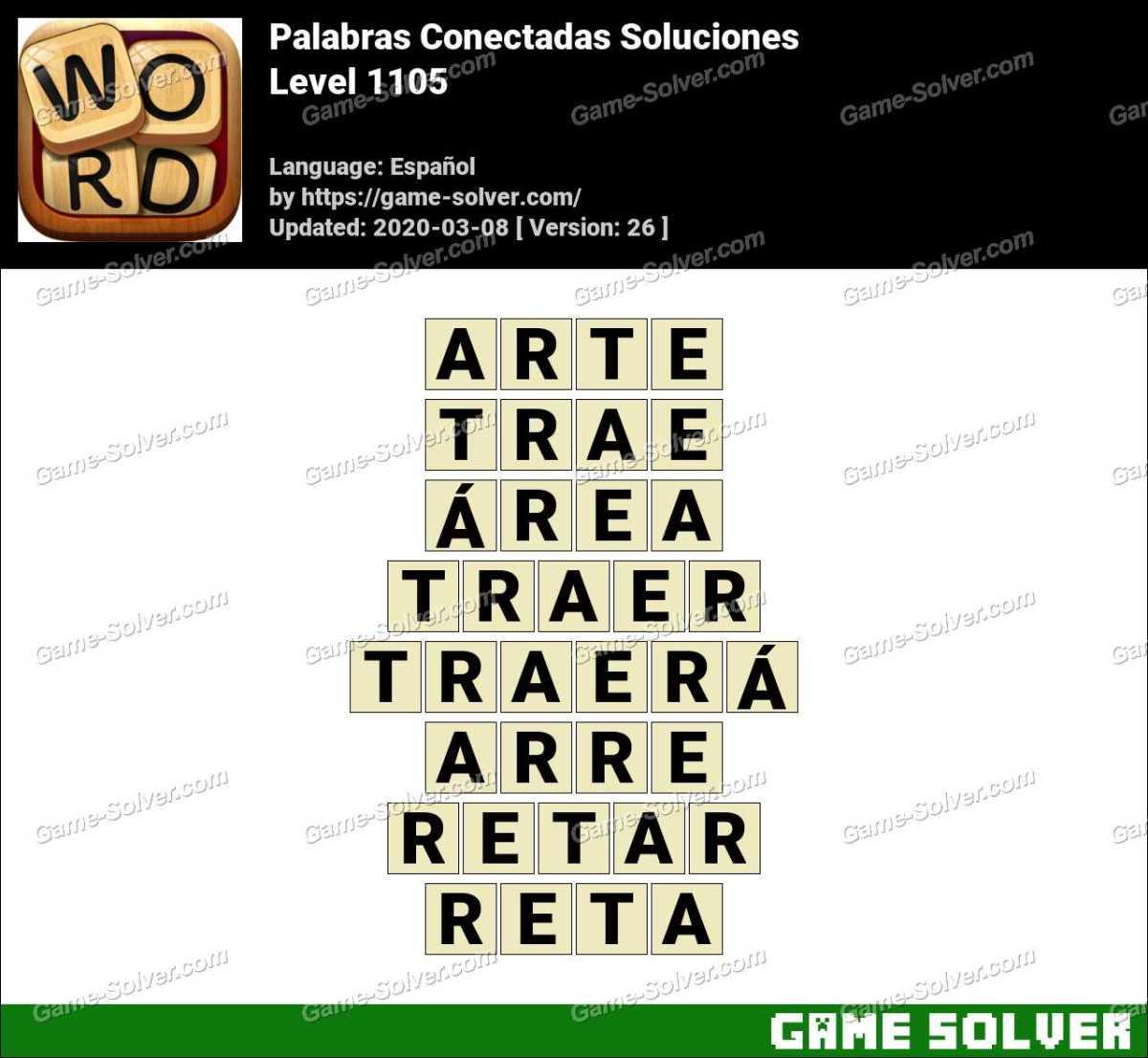 Palabras Conectadas Nivel 1105 Soluciones