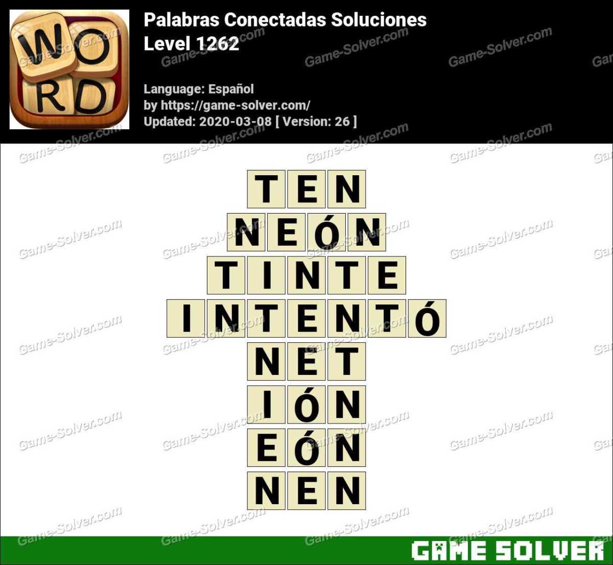 Palabras Conectadas Nivel 1262 Soluciones