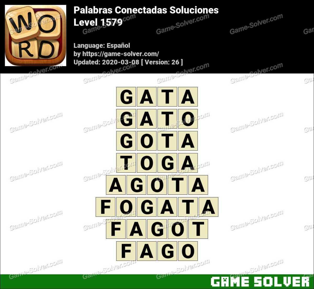 Palabras Conectadas Nivel 1579 Soluciones