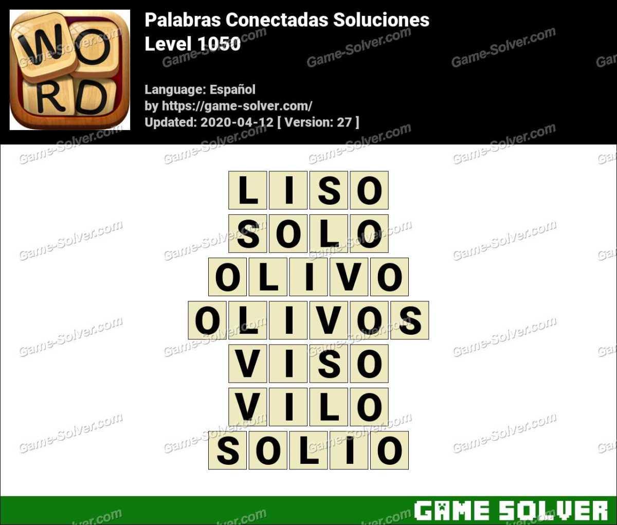 Palabras Conectadas Nivel 1050 Soluciones