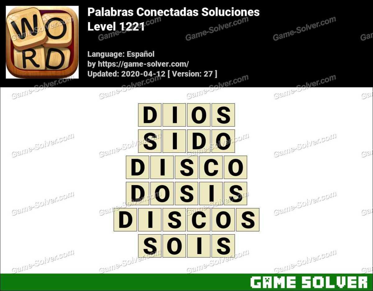 Palabras Conectadas Nivel 1221 Soluciones
