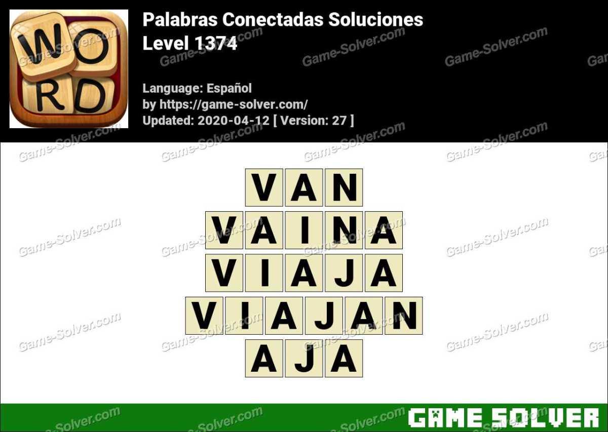 Palabras Conectadas Nivel 1374 Soluciones