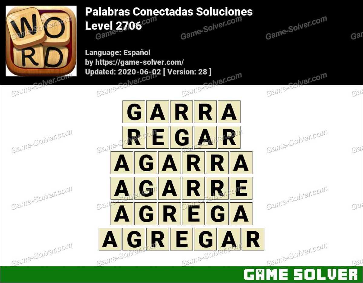 Palabras Conectadas Nivel 2706 Soluciones