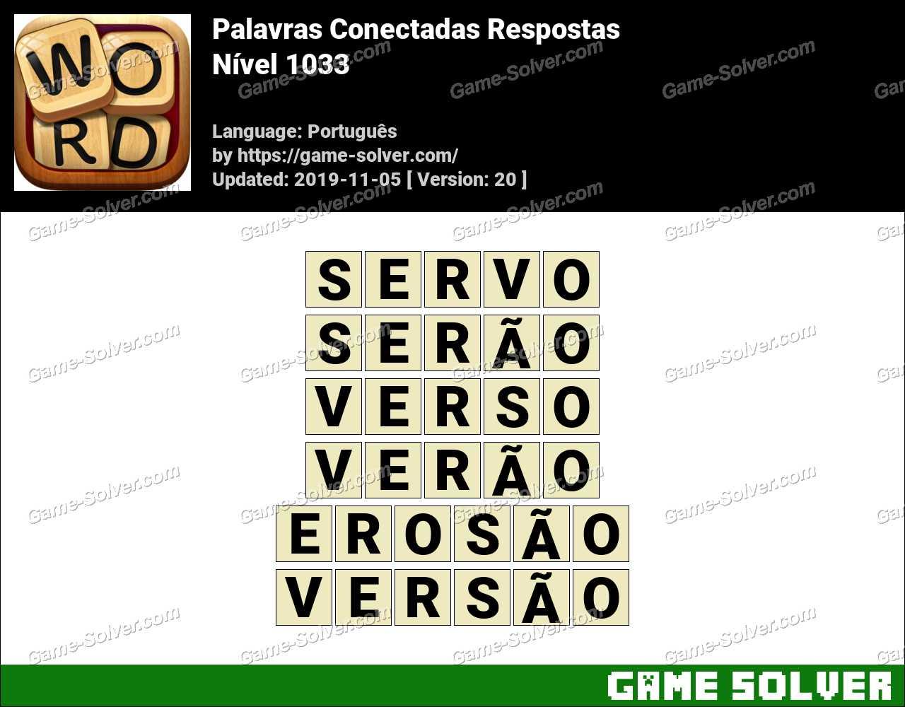 Palavras Conectadas Nivel 1033 Respostas