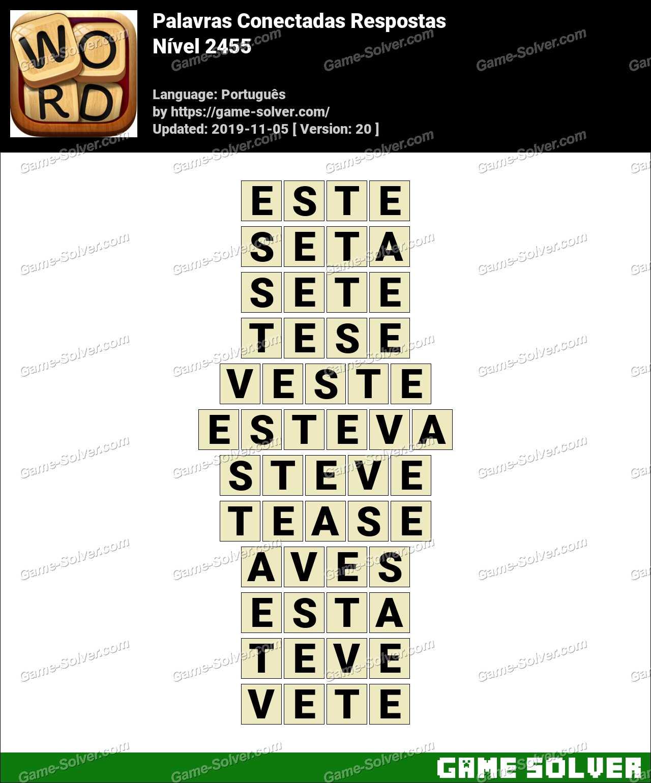 Palavras Conectadas Nivel 2455 Respostas