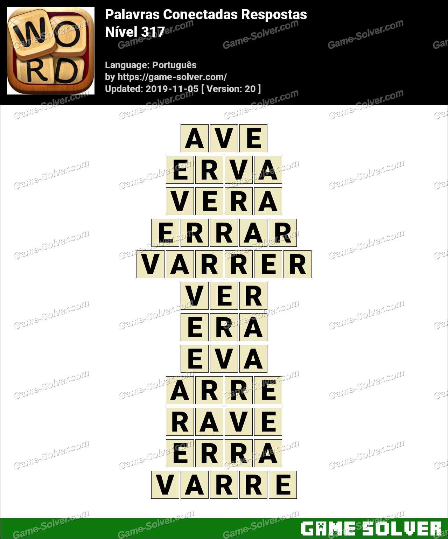 Palavras Conectadas Nivel 317 Respostas