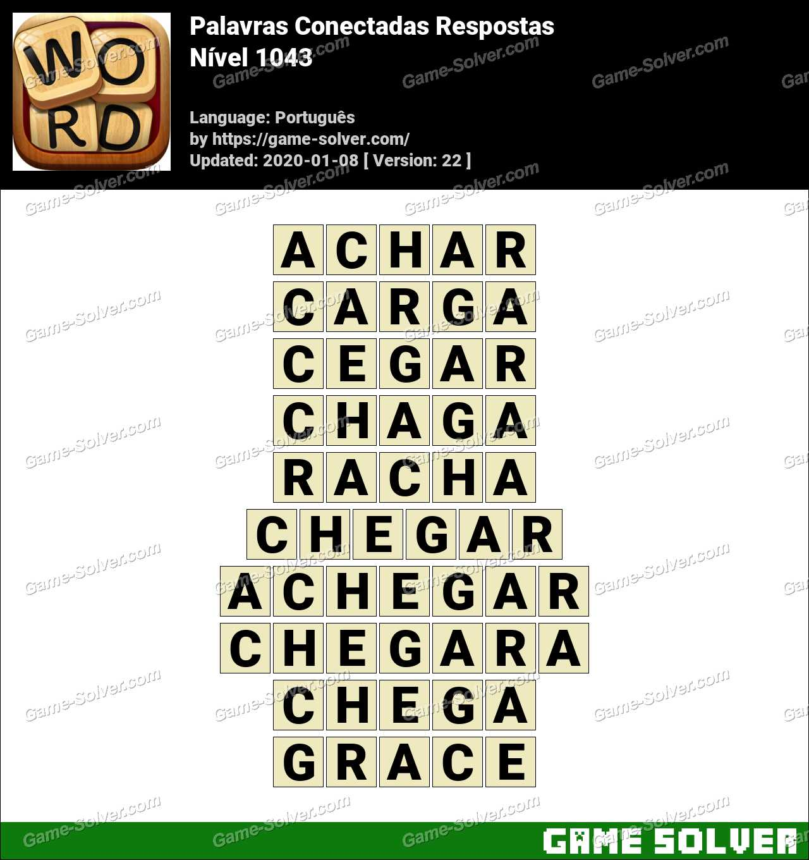 Palavras Conectadas Nivel 1043 Respostas