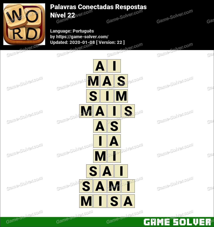 Palavras Conectadas Nivel 22 Respostas