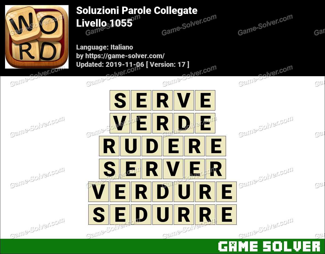Soluzioni Parole Collegate Livello 1055