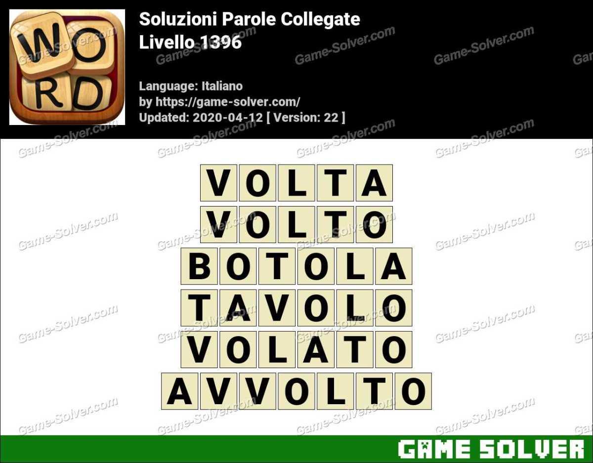 Soluzioni Parole Collegate Livello 1396