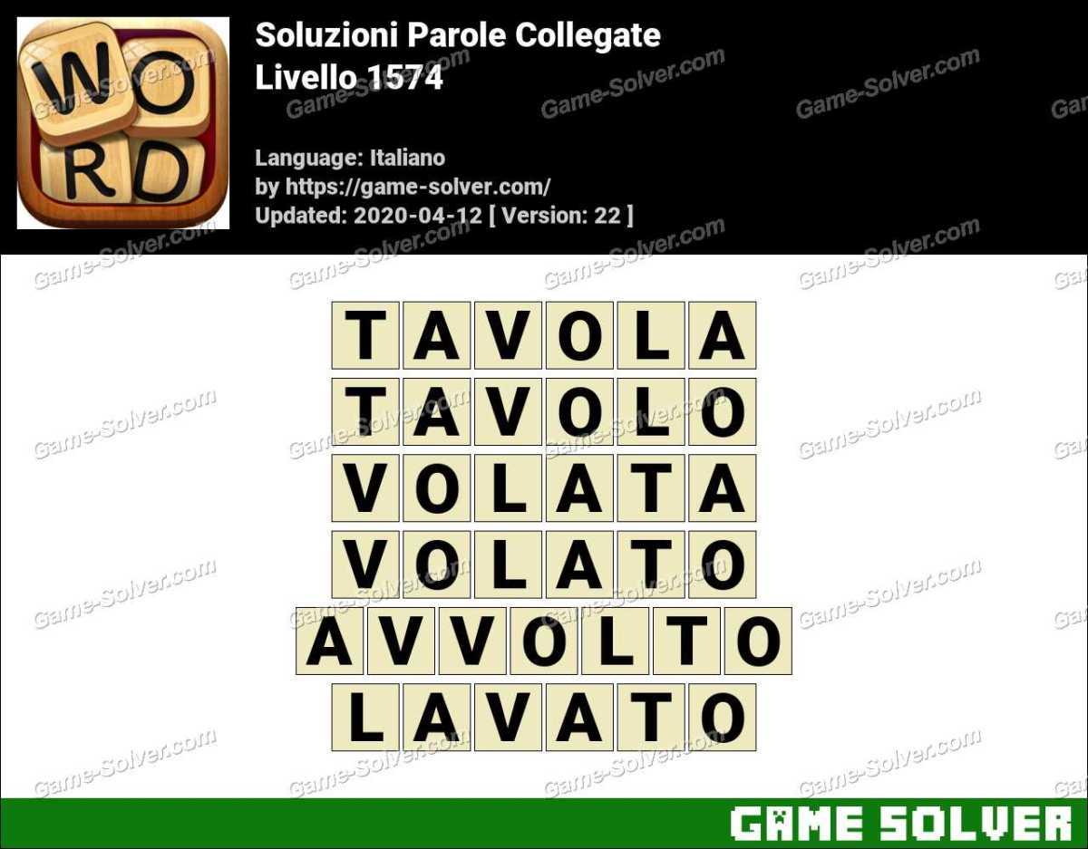 Soluzioni Parole Collegate Livello 1574