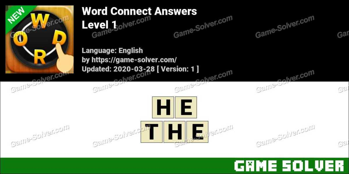 Word Connect by Junwei Zhong Level 1 Answers