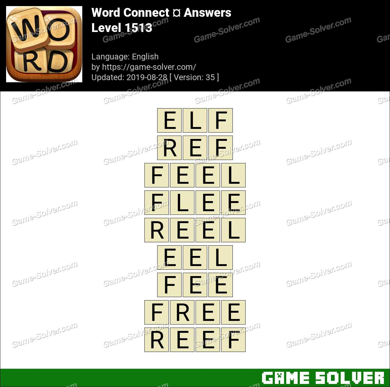 Word Connect Level 1513 Answers