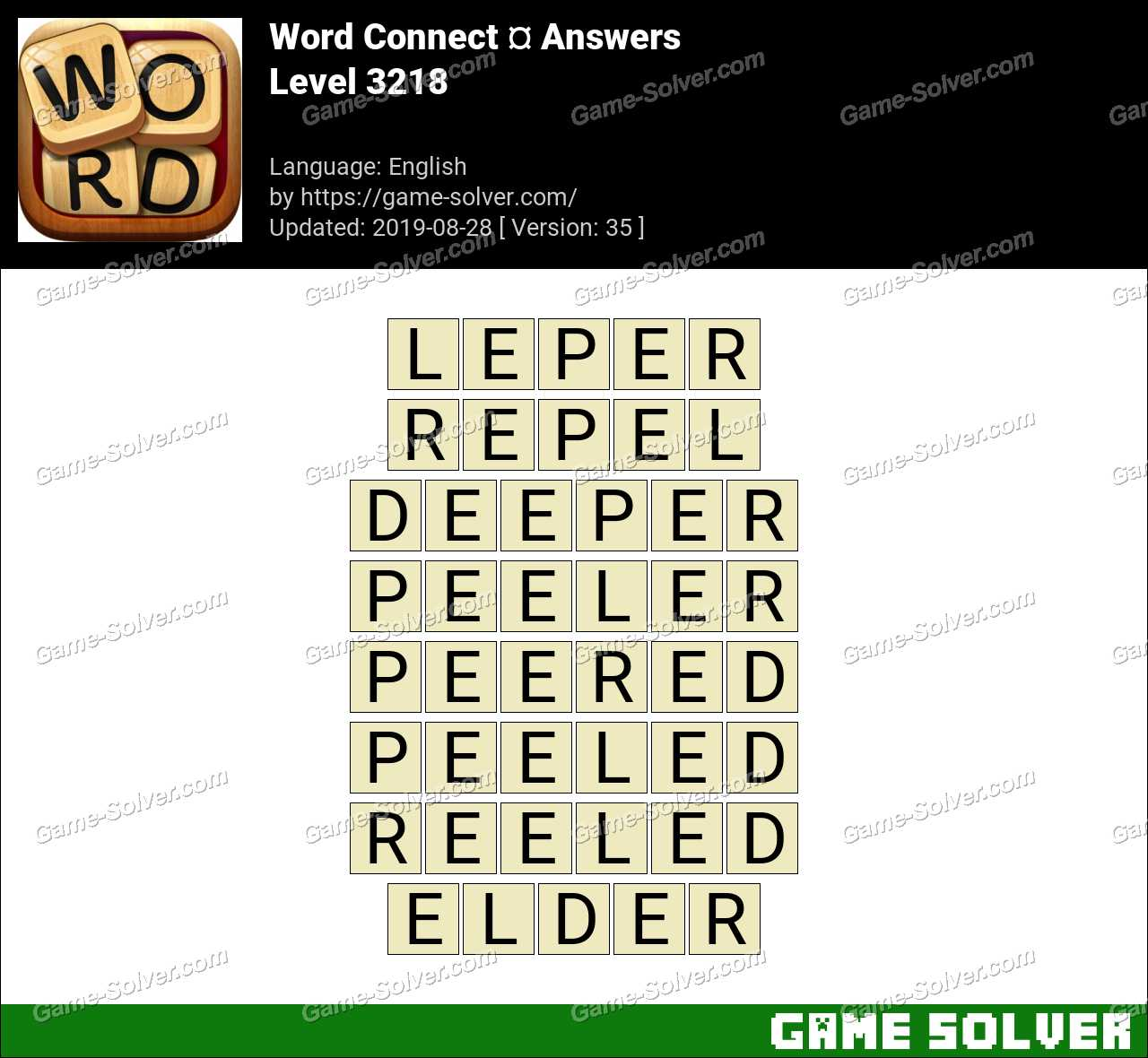 Word Connect Level 3218 Answers
