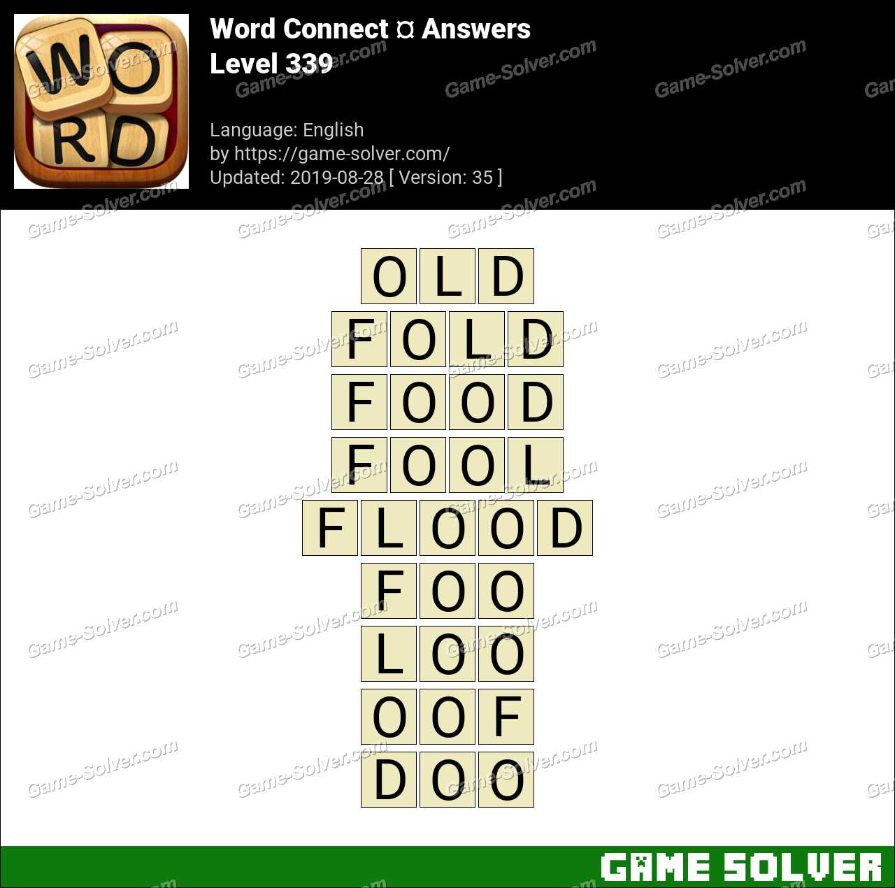 Word Connect Level 339 Answers