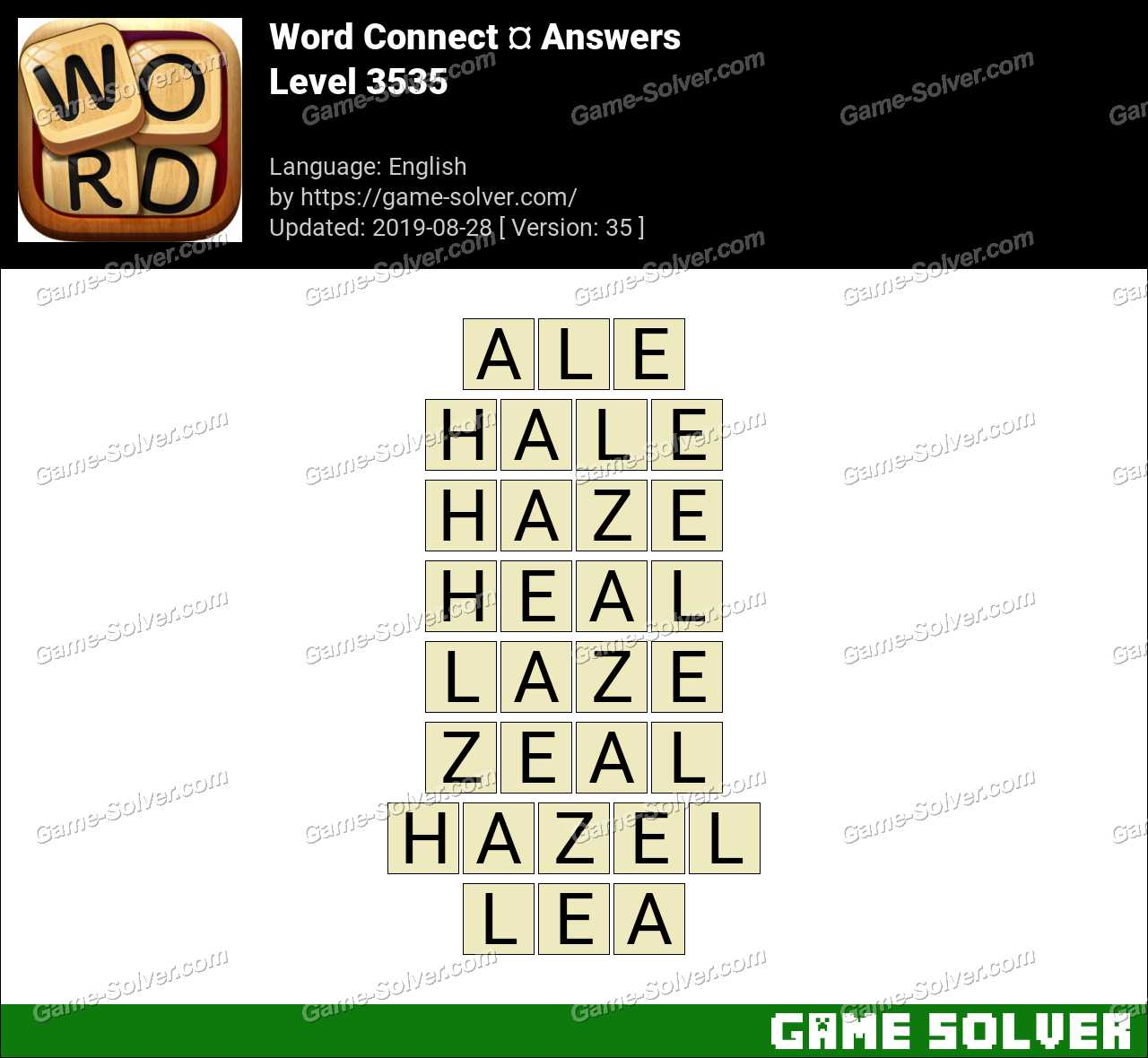 Word Connect Level 3535 Answers