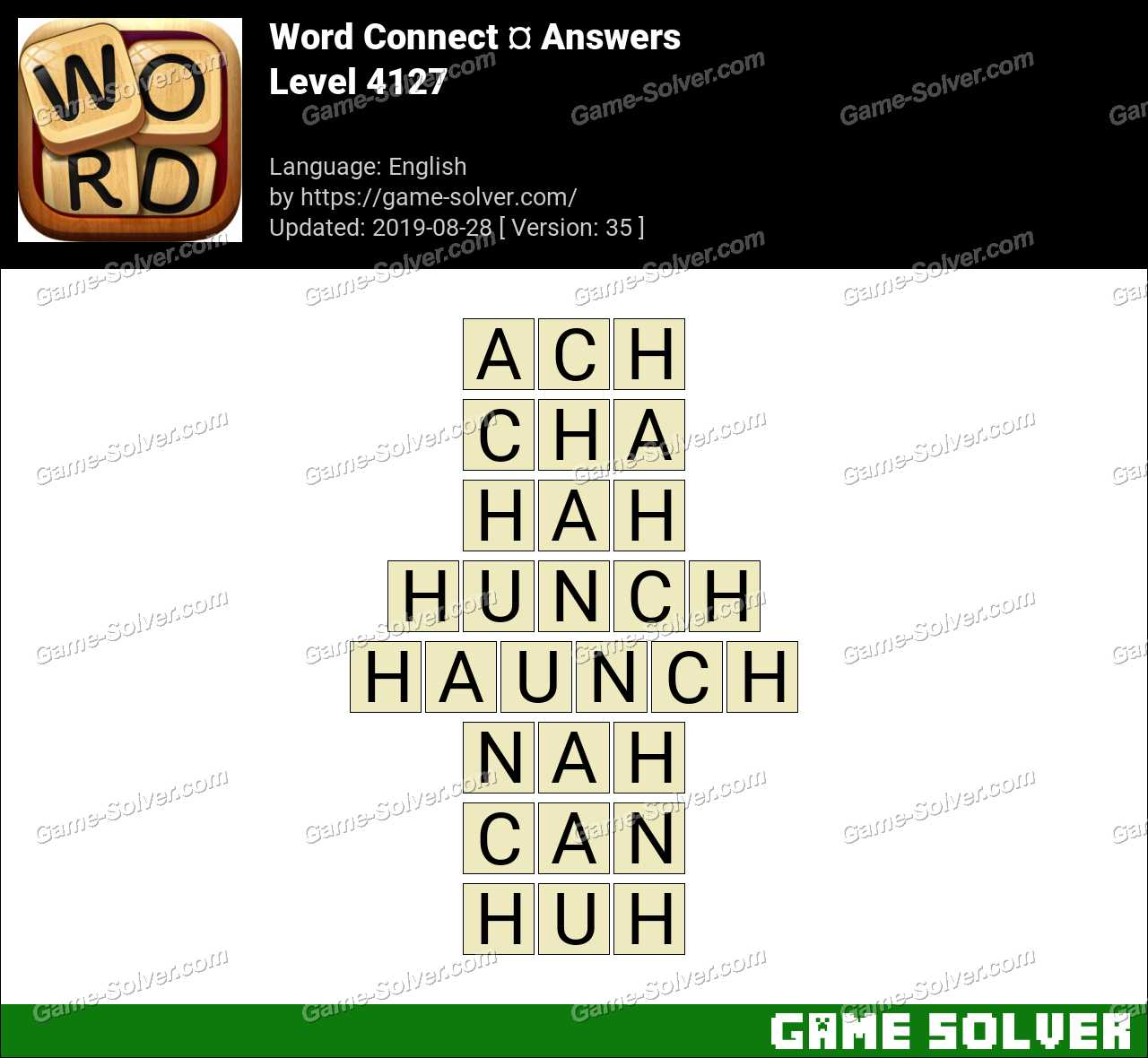 Word Connect Level 4127 Answers