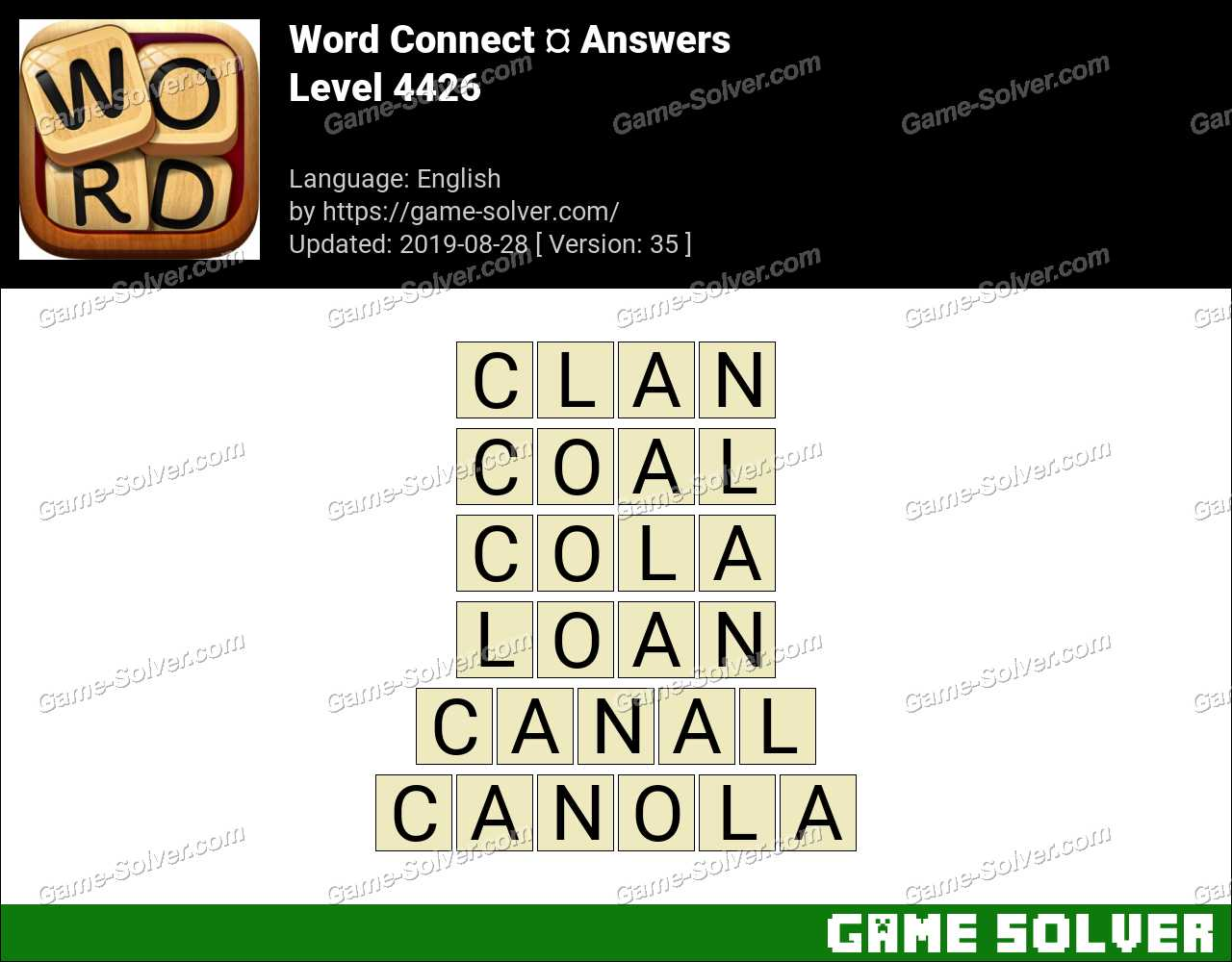 Word Connect Level 4426 Answers