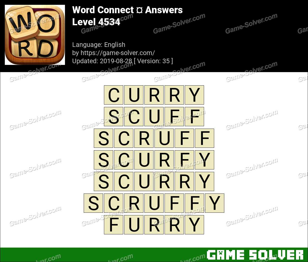 Word Connect Level 4534 Answers