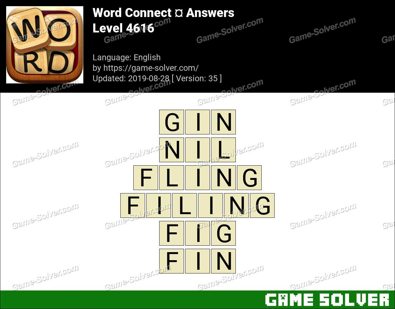 Word Connect Level 4616 Answers