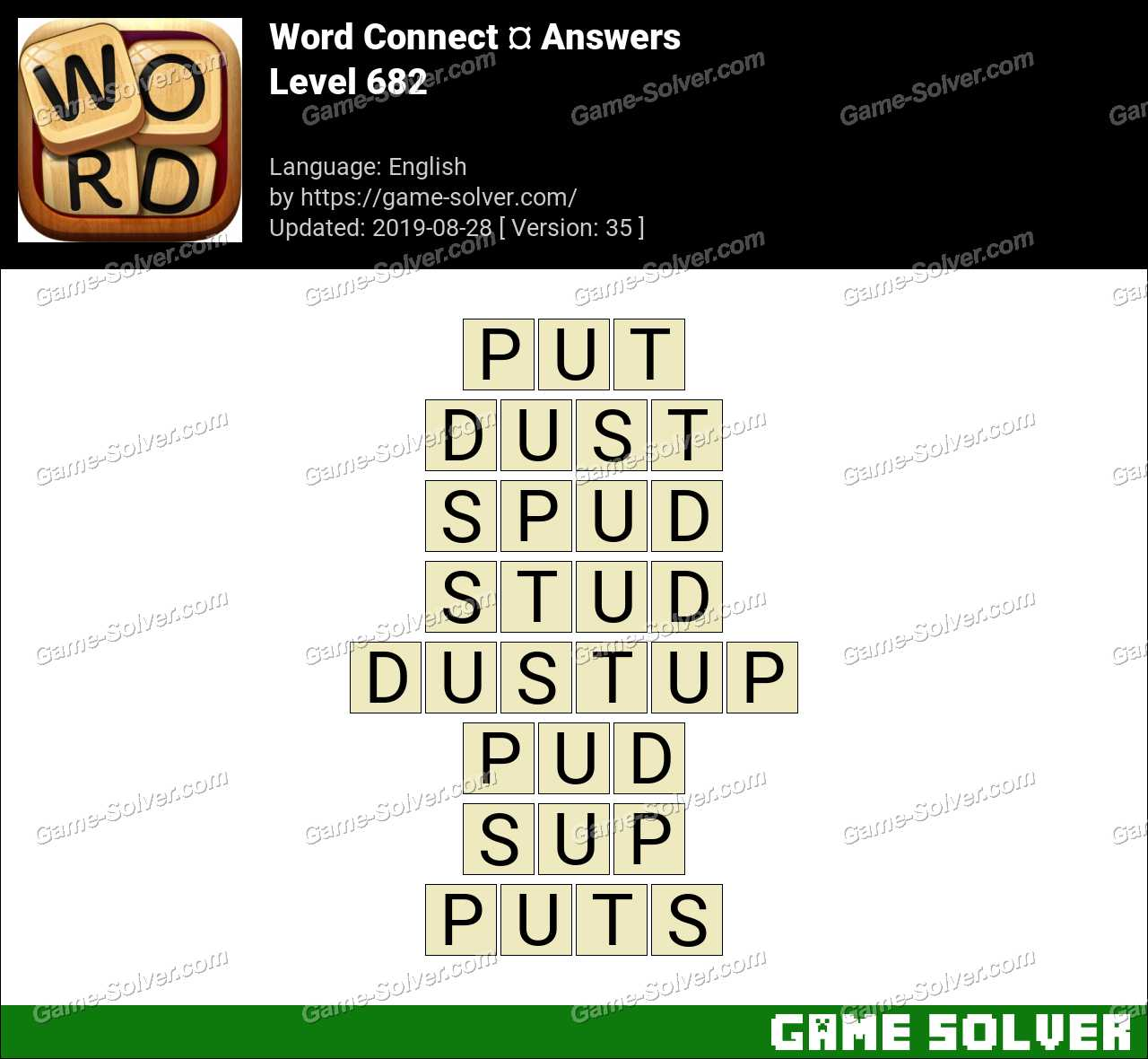 Word Connect Level 682 Answers