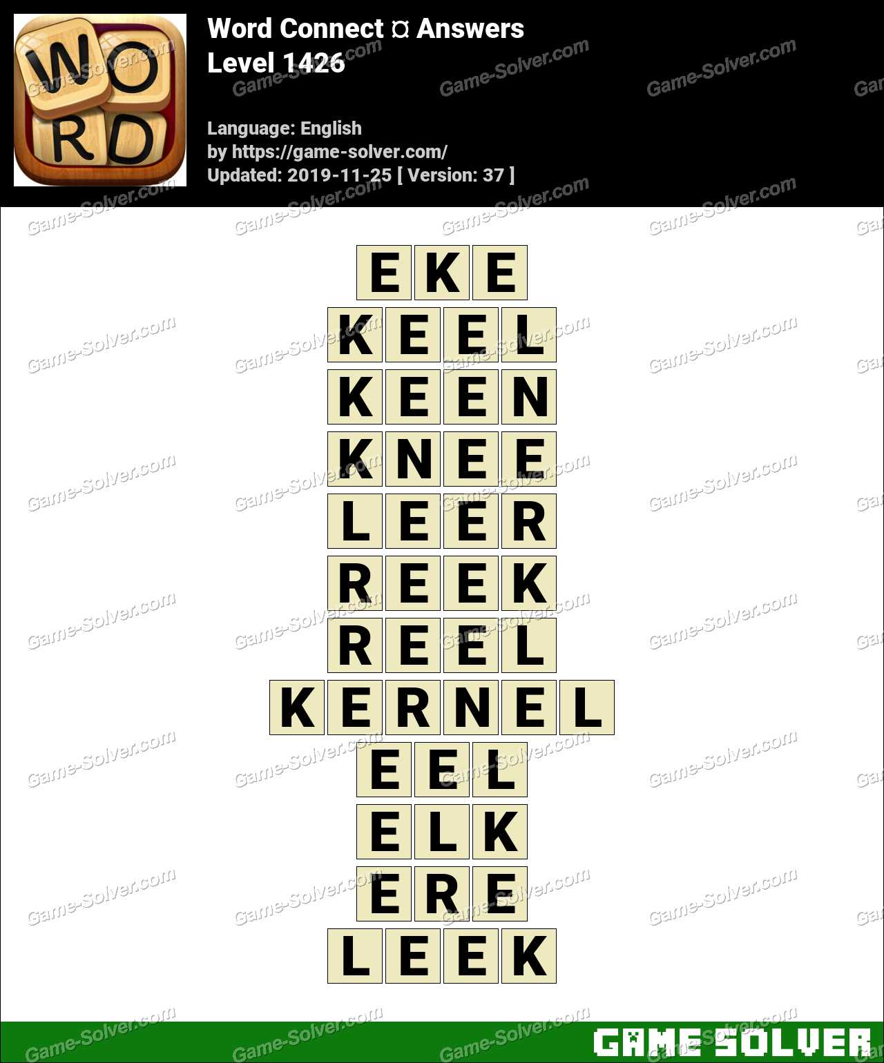 Word Connect Level 1426 Answers