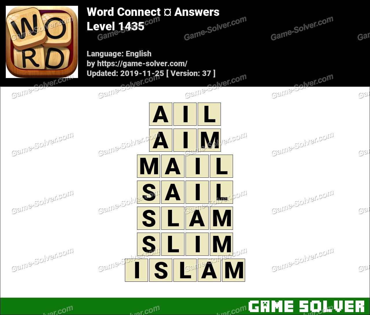 Word Connect Level 1435 Answers