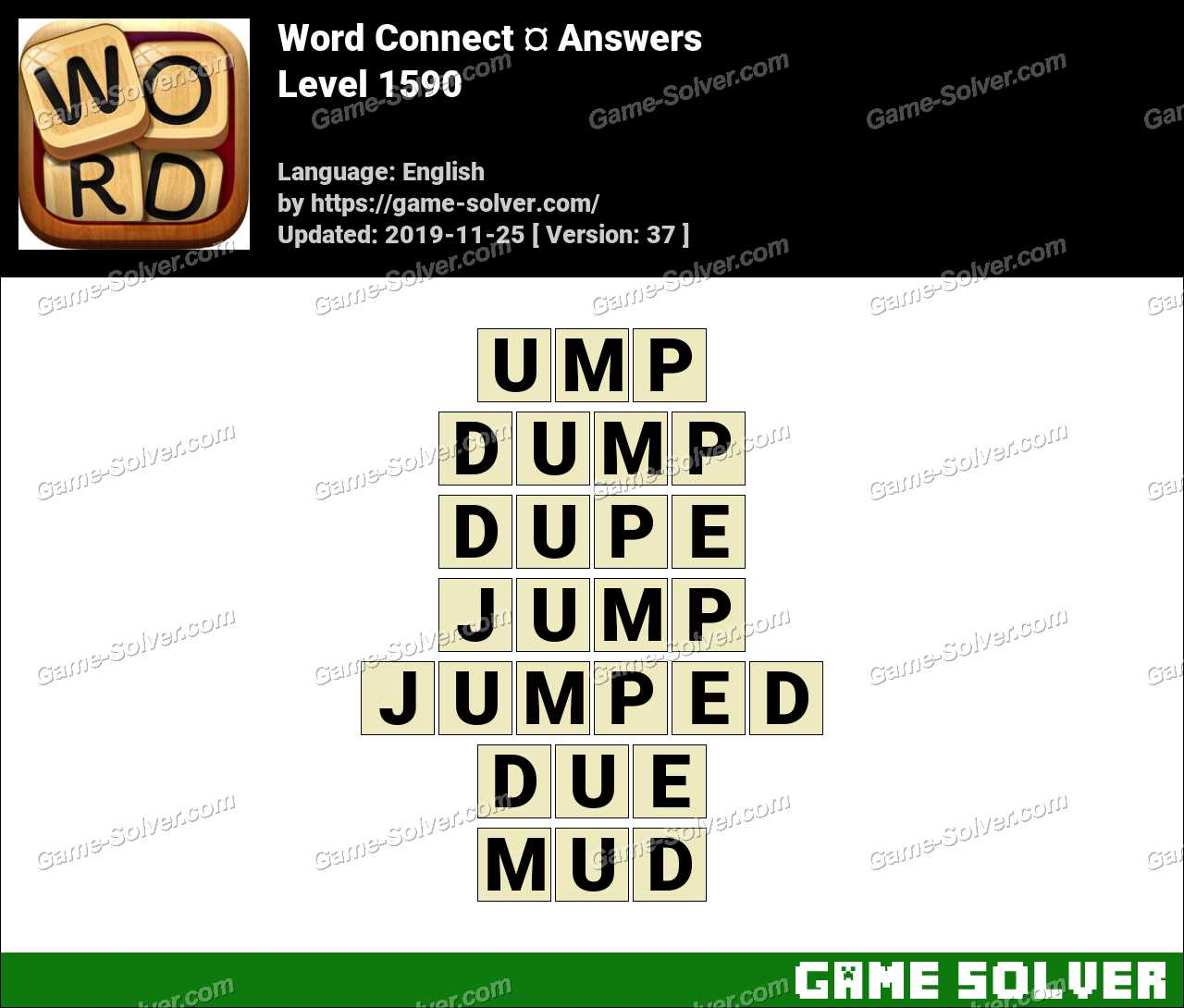 Word Connect Level 1590 Answers