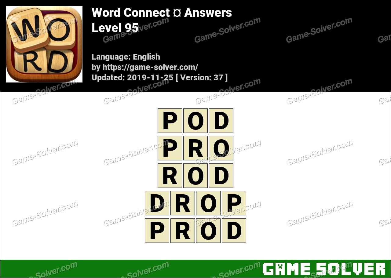 Word Connect Level 95 Answers