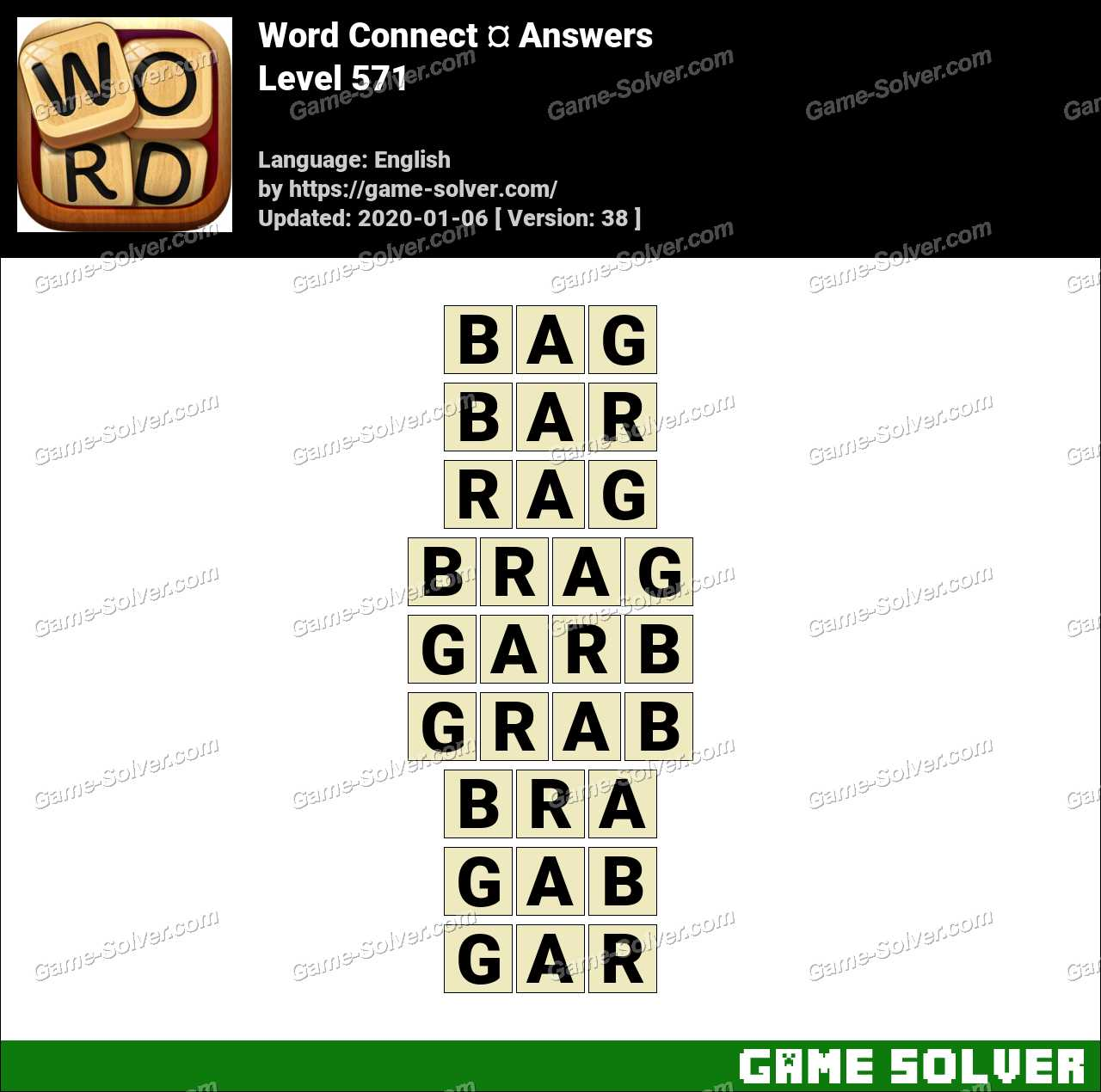 Word Connect Level 571 Answers
