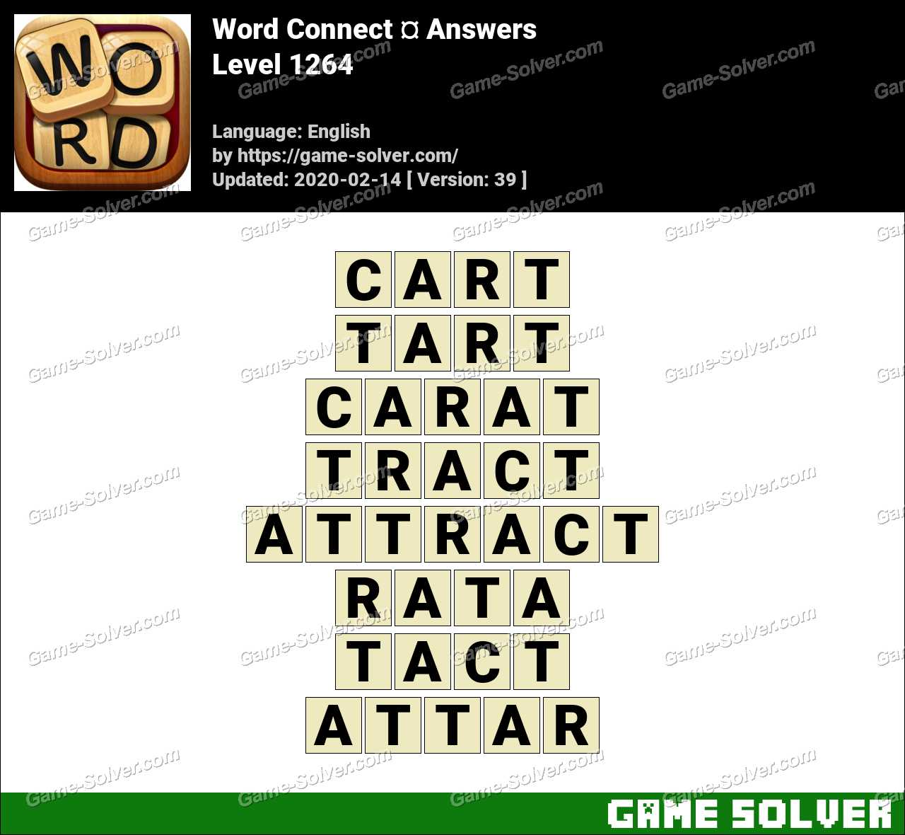 Word Connect Level 1264 Answers