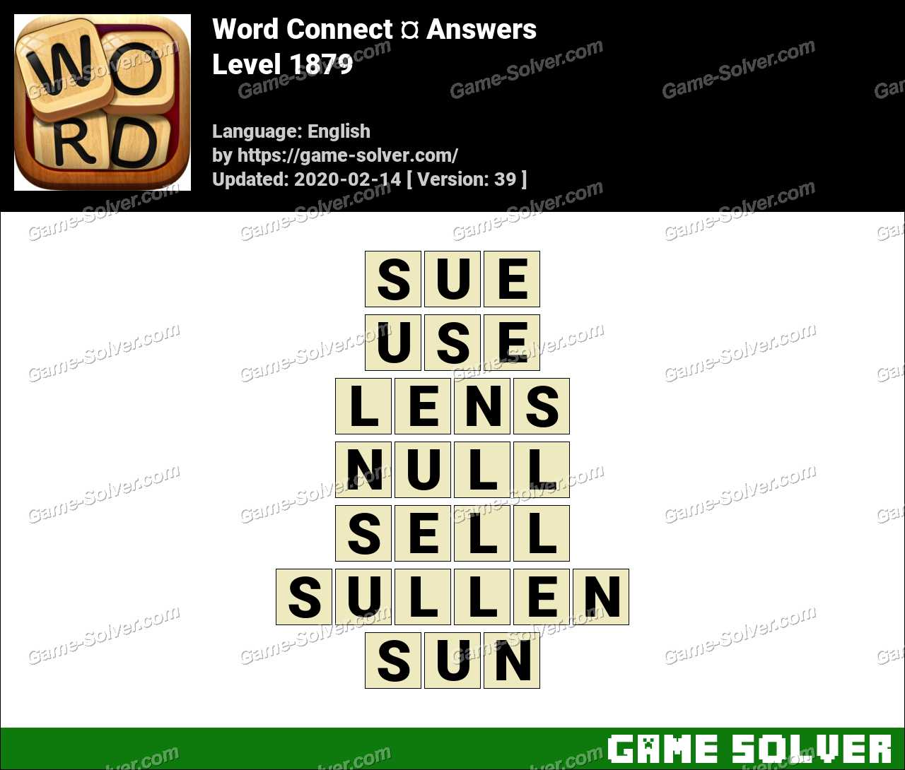 Word Connect Level 1879 Answers