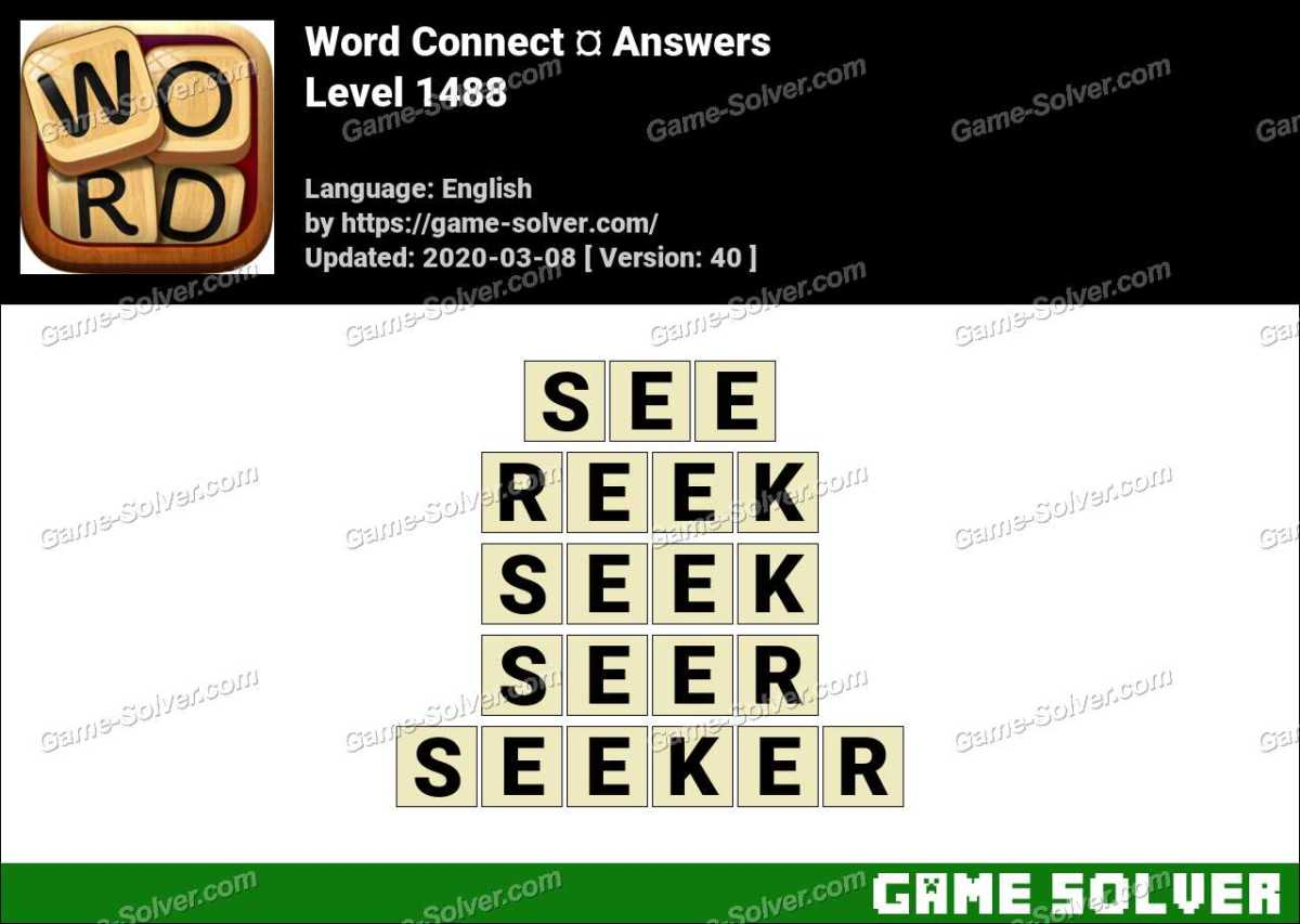 Word Connect Level 1488 Answers