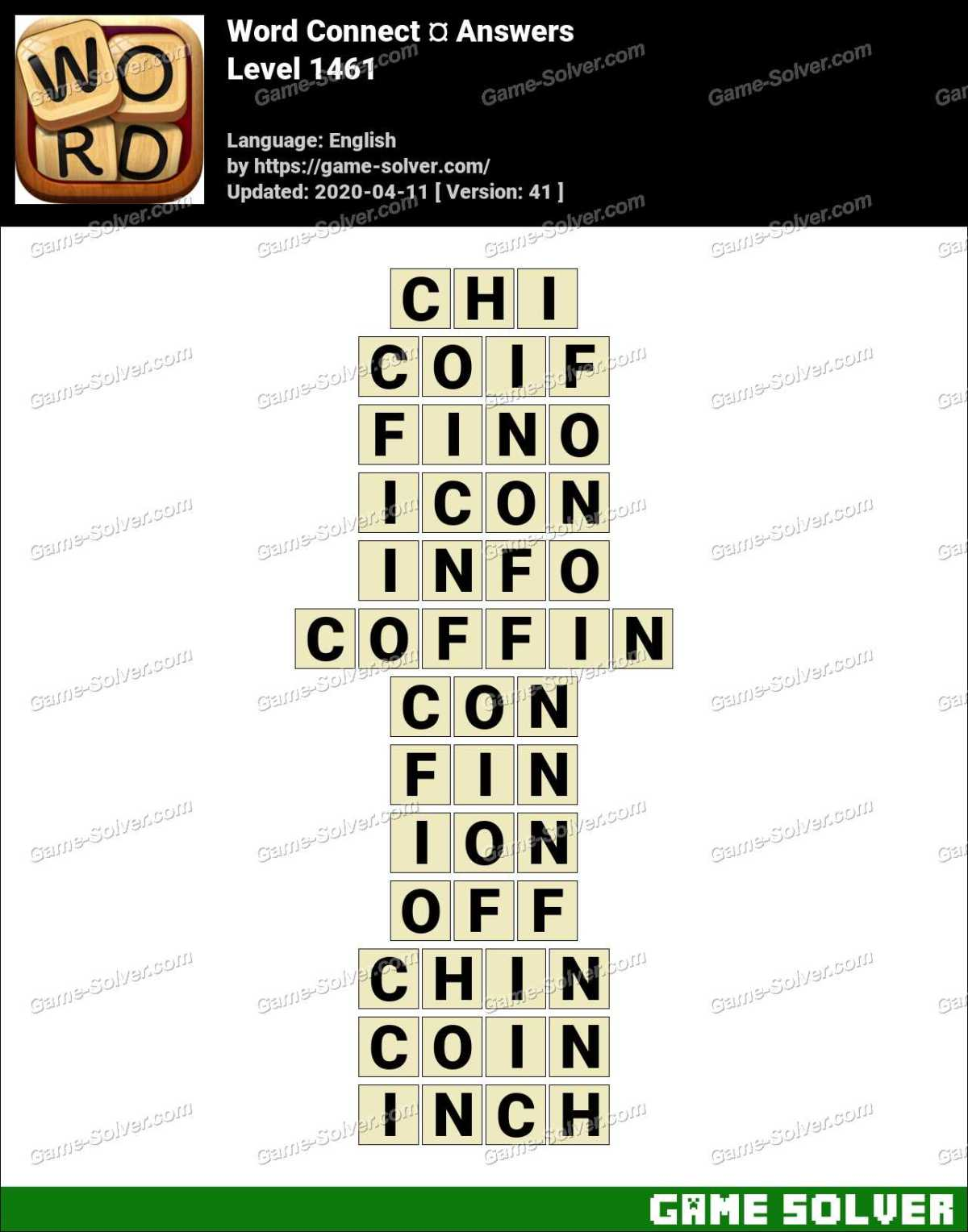 Word Connect Level 1461 Answers