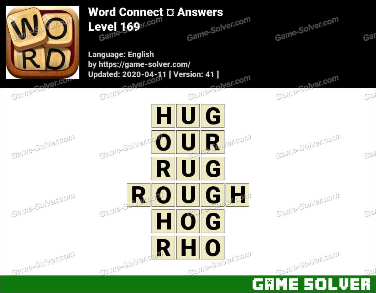 Word Connect Level 169 Answers