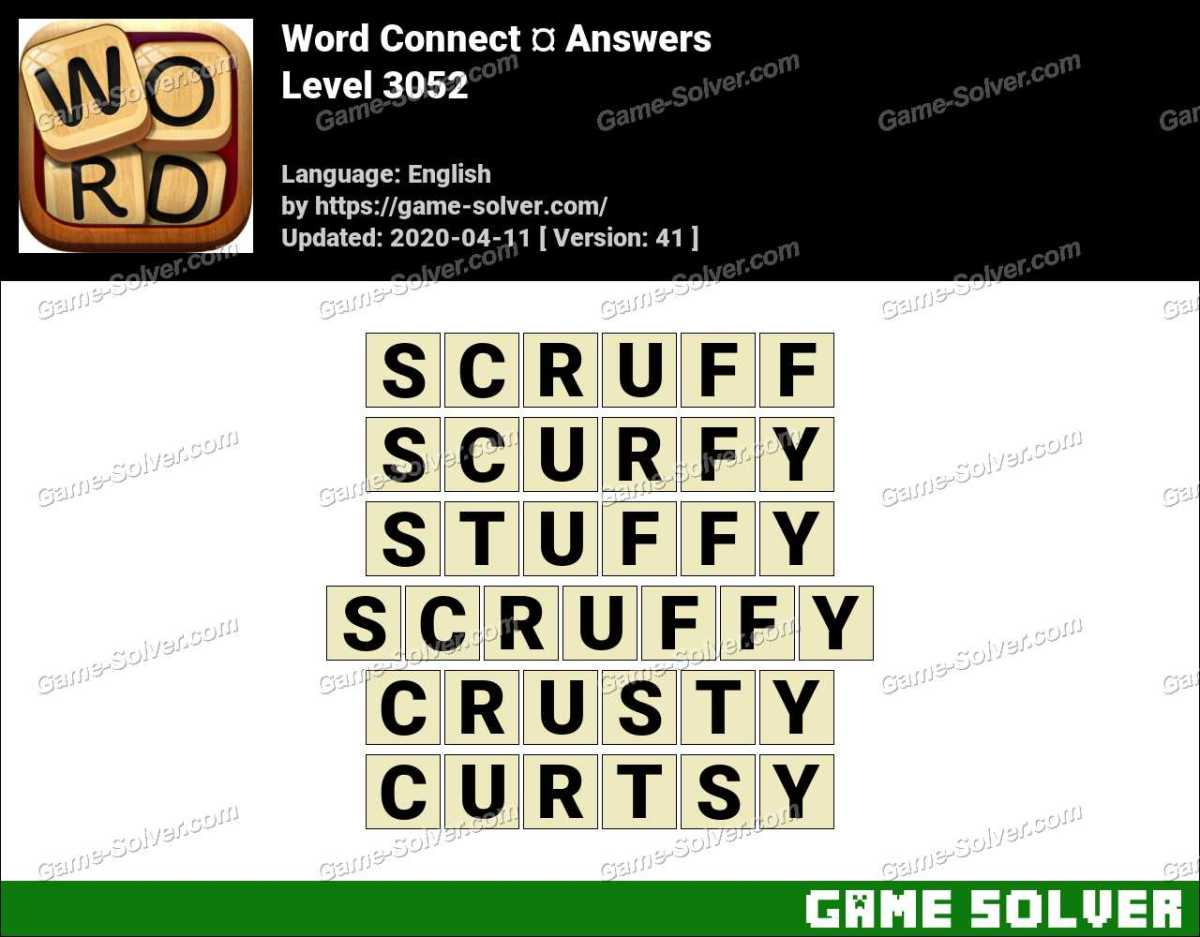 Word Connect Level 3052 Answers