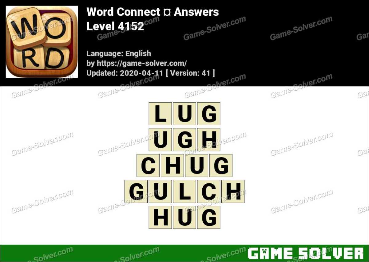 Word Connect Level 4152 Answers