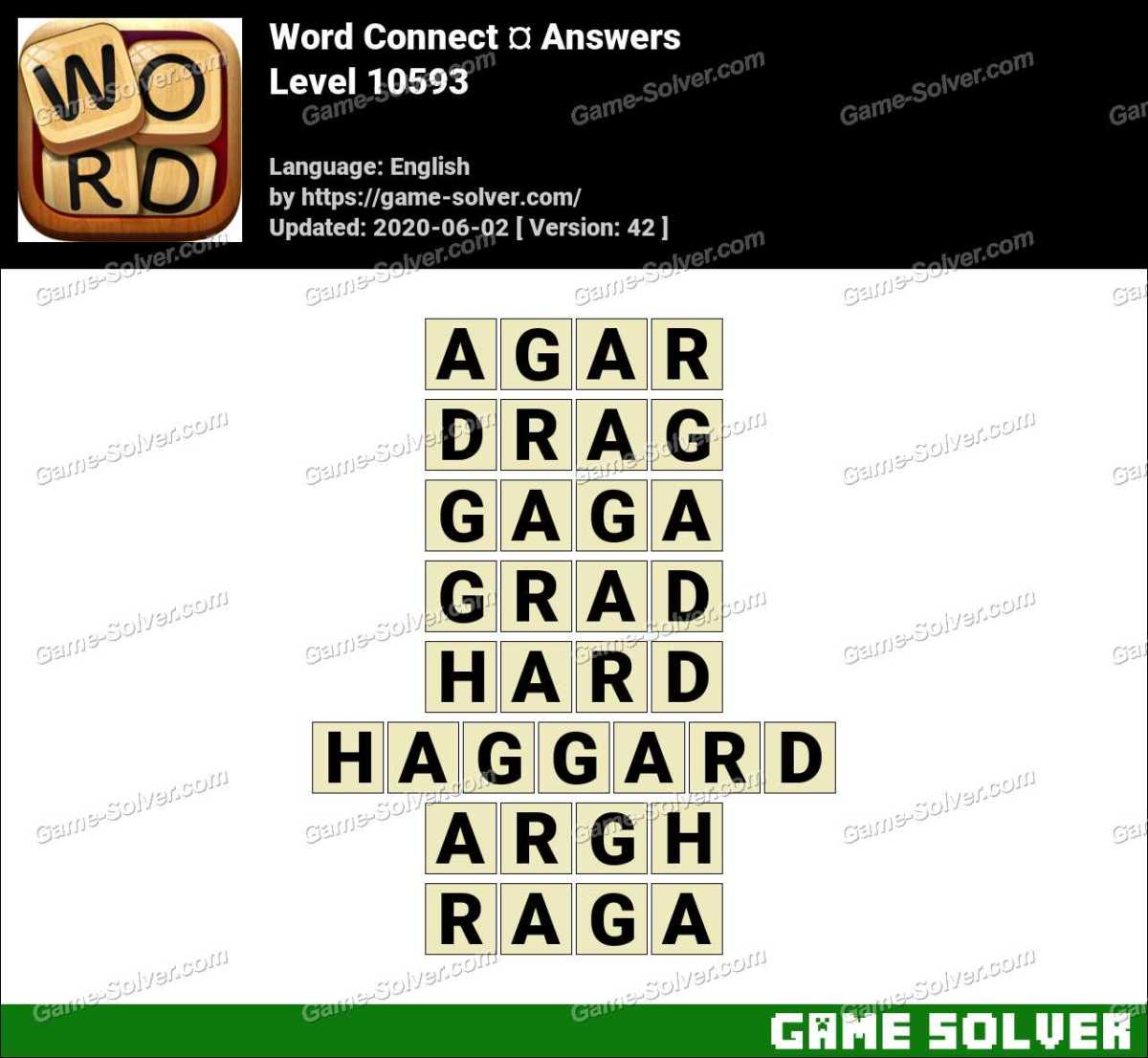 Word Connect Level 10593 Answers