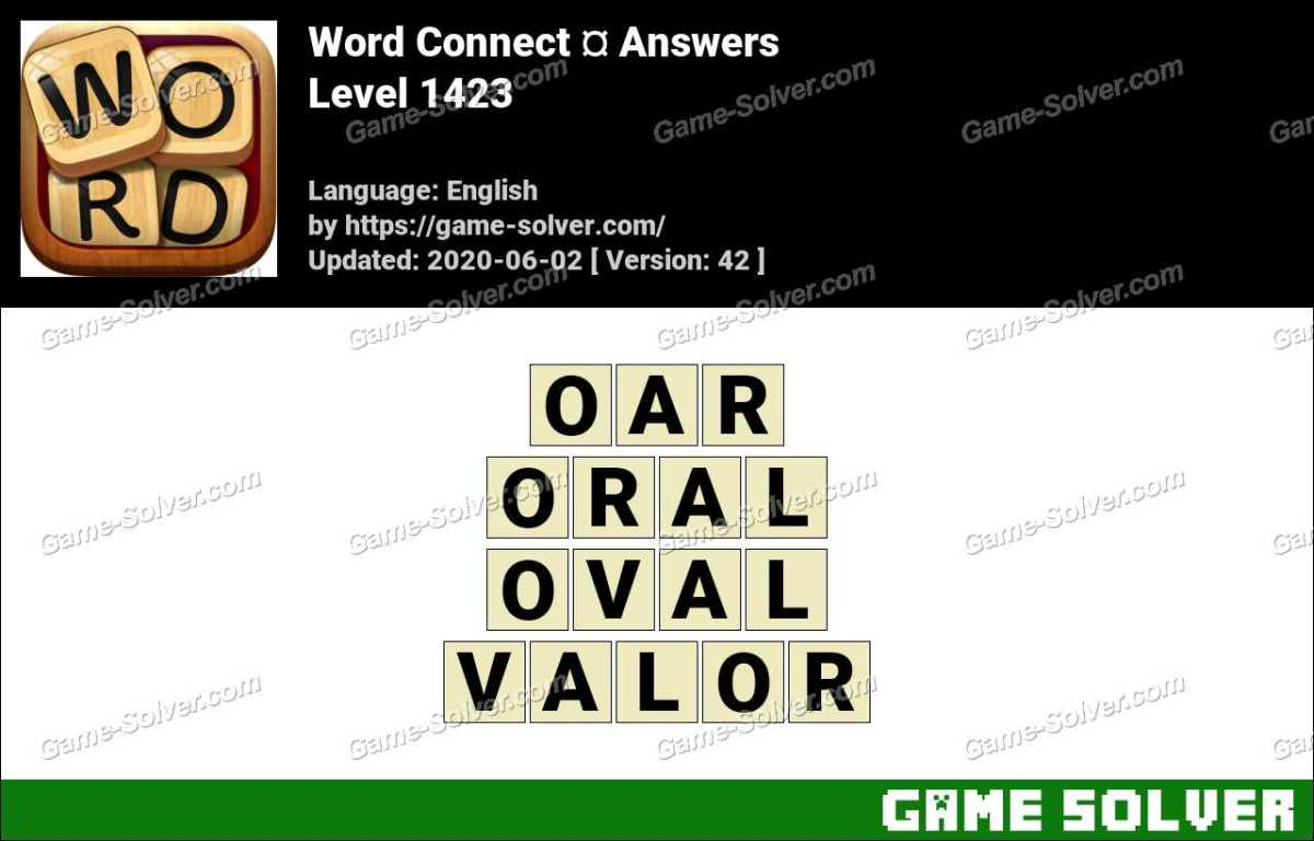 Word Connect Level 1423 Answers