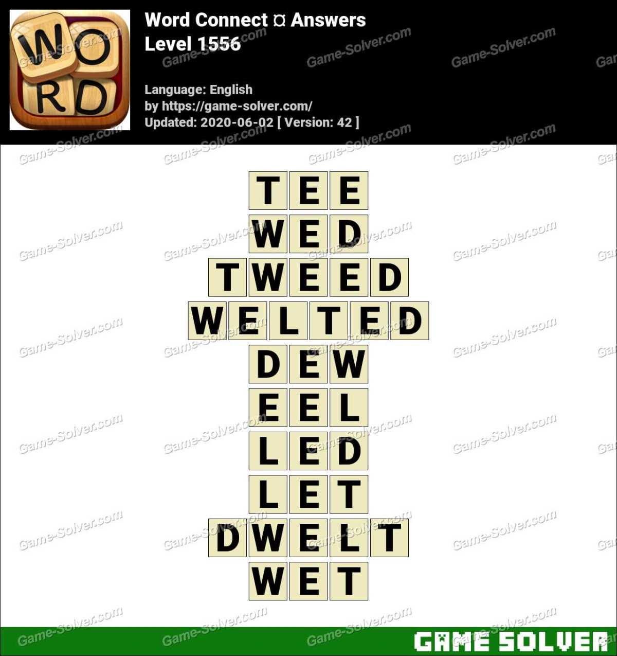 Word Connect Level 1556 Answers