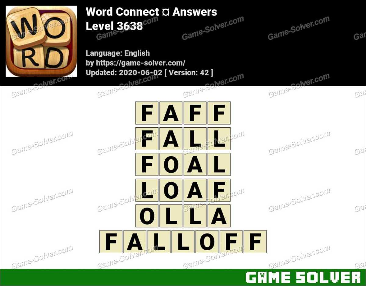 Word Connect Level 3638 Answers