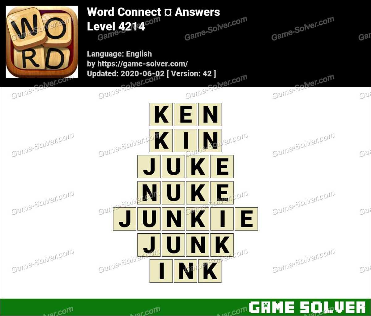 Word Connect Level 4214 Answers