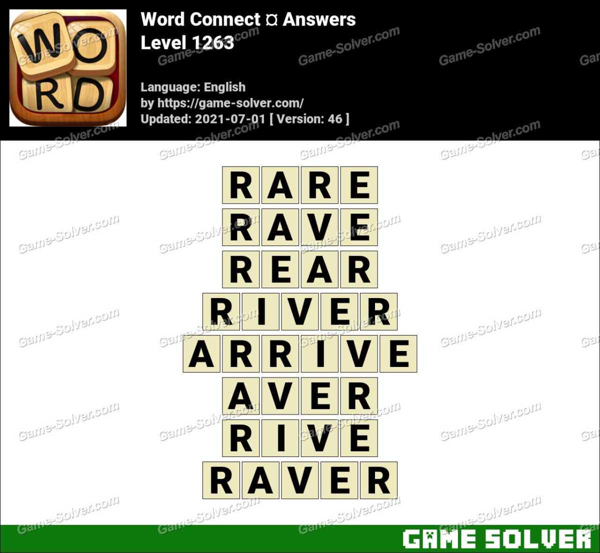 Word Connect Level 1263 Answers