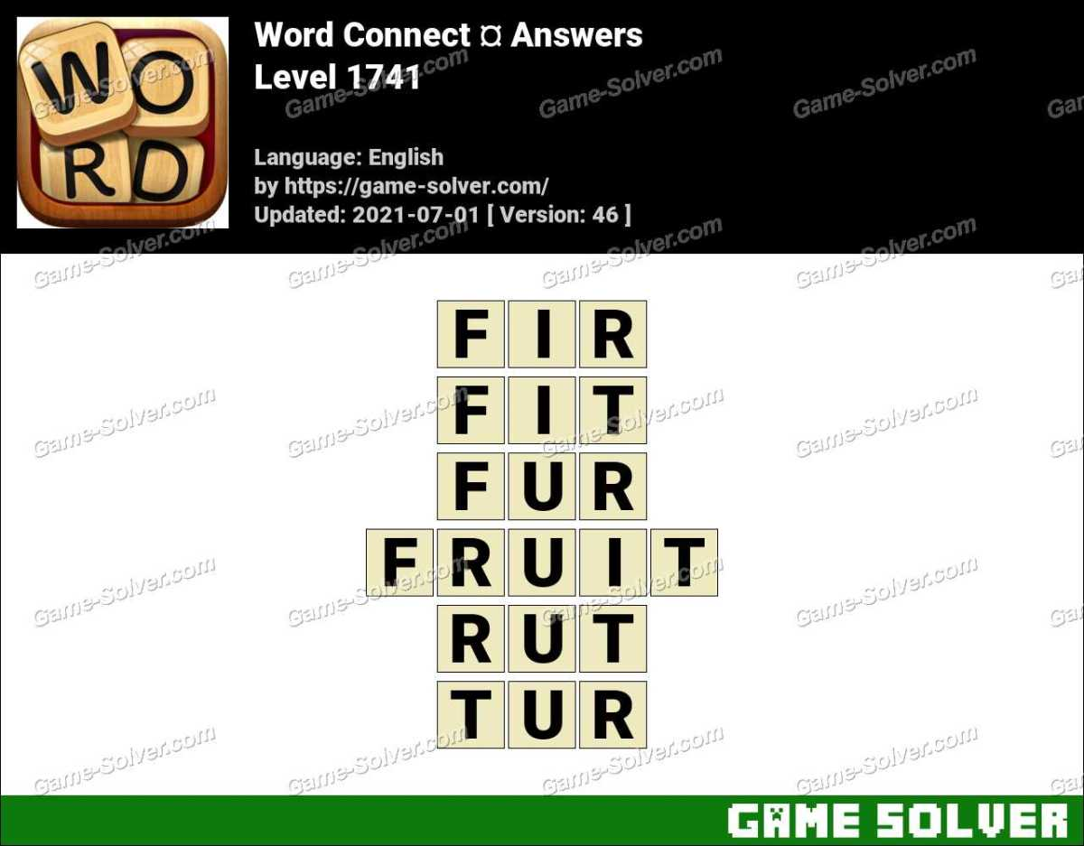 Word Connect Level 1741 Answers