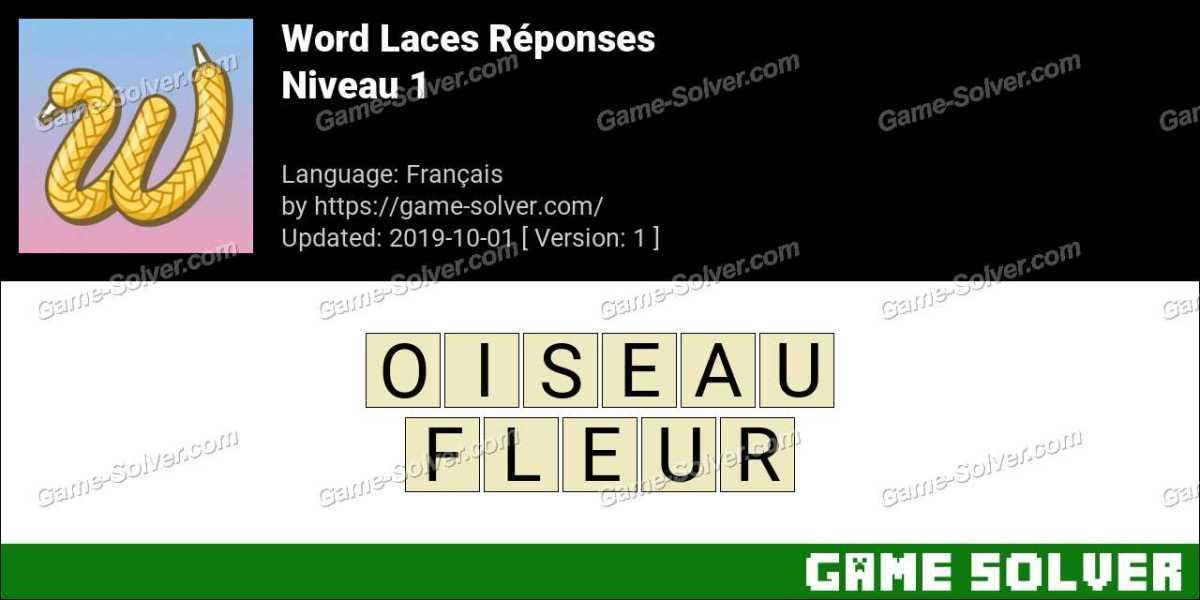 Word Laces Level 1 Réponses