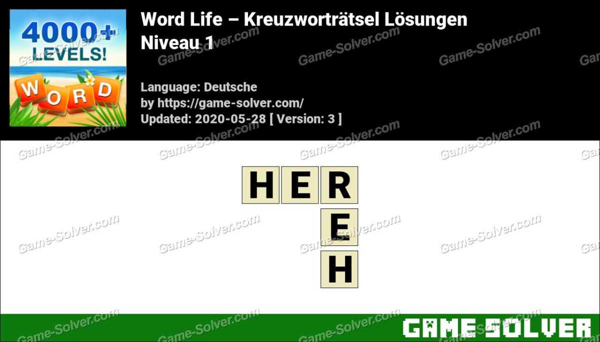Word Life Niveau 1 Lösungen